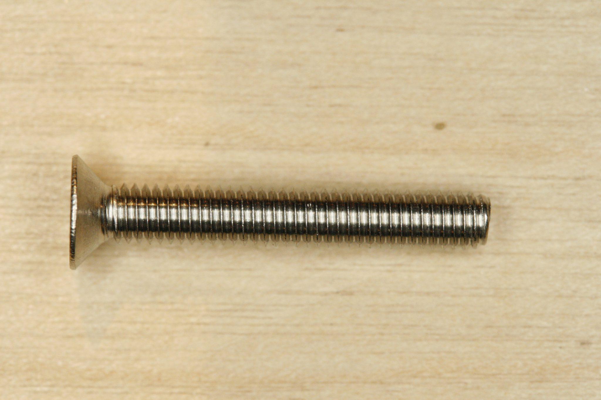 2,5 mm Skrue Undersænket UH-X 965-54